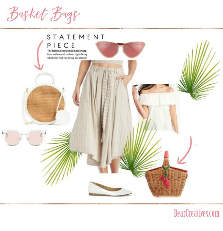 Basket Purses and Basket Bags a Spring Summer Fashion Must
