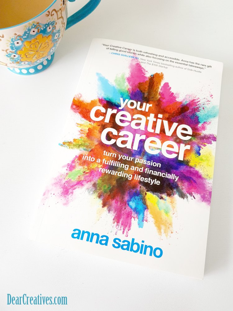 Books to read. Your Creative Career touches on how to build a creative business. Find out more insights to this book at DearCreatives.com
