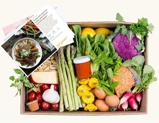 tips for Meal Planning and ordering Sunbasket meal kit delivery service