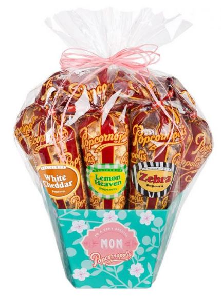Mother's Day Gift Idea Mother's Day Gourmet Popcorn Gift Basket