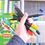 Do you want to get more creative See how to set up creative time. Tips for journals, art journals, and making time for art. DearCreatives.com #derwentacademy #IC #ad #journals #artjournals #art