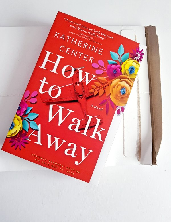 How to Walk Away - a novel by Katerine Center advanced copy, and book review at DearCreatives.com