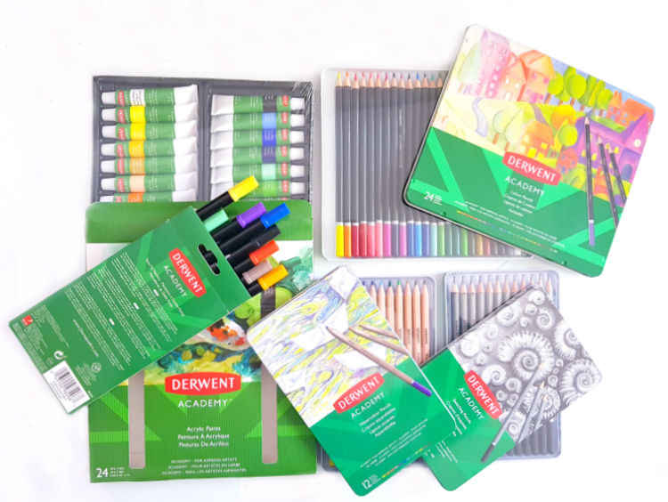 Art supplies #DerwentAcademy #IC #ad See how to use these art supplies and, how to make creative time....DearCreatives.com
