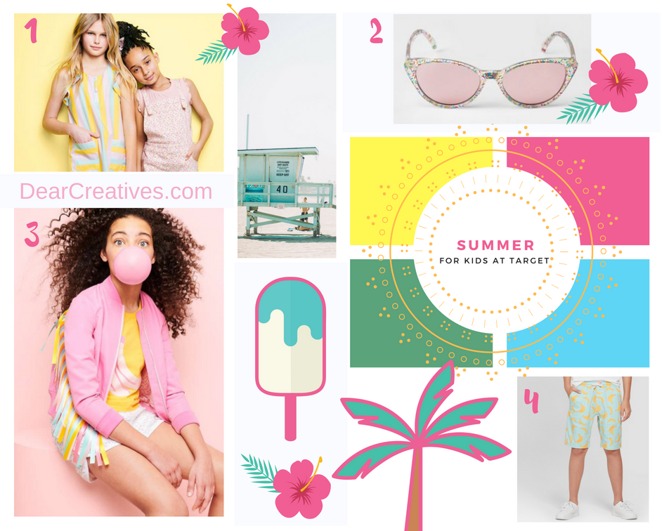 Art Class fashions at Target for kids this summer