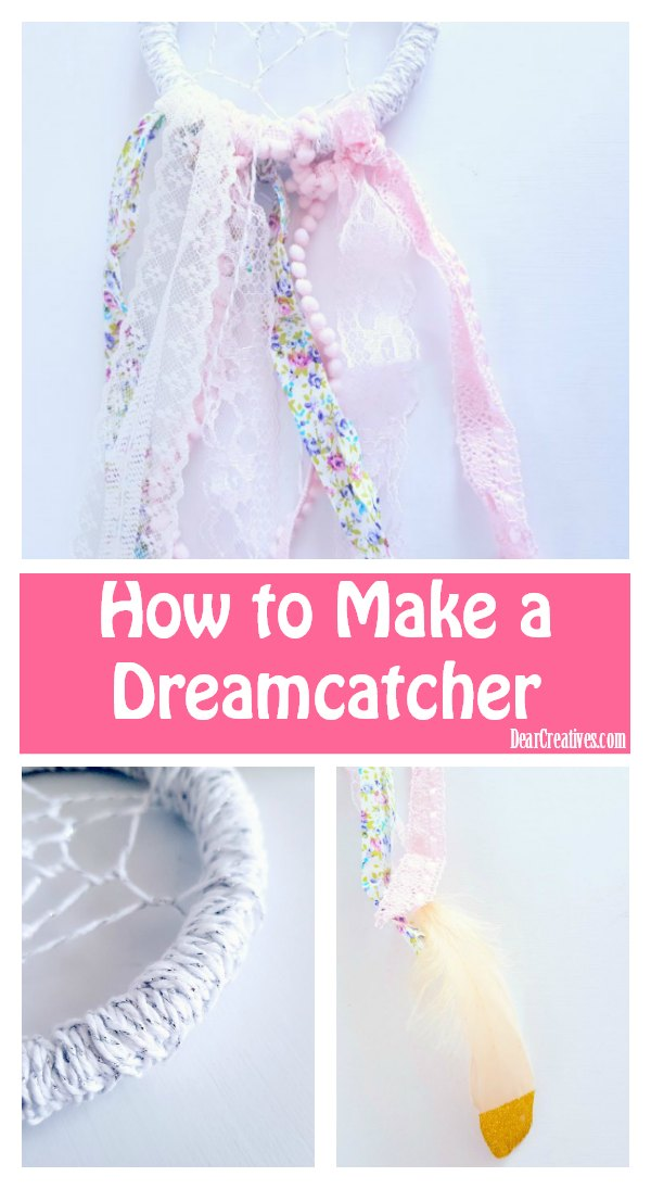 How to Make a DreamCatcher-EASY DIY Dreamcatcher