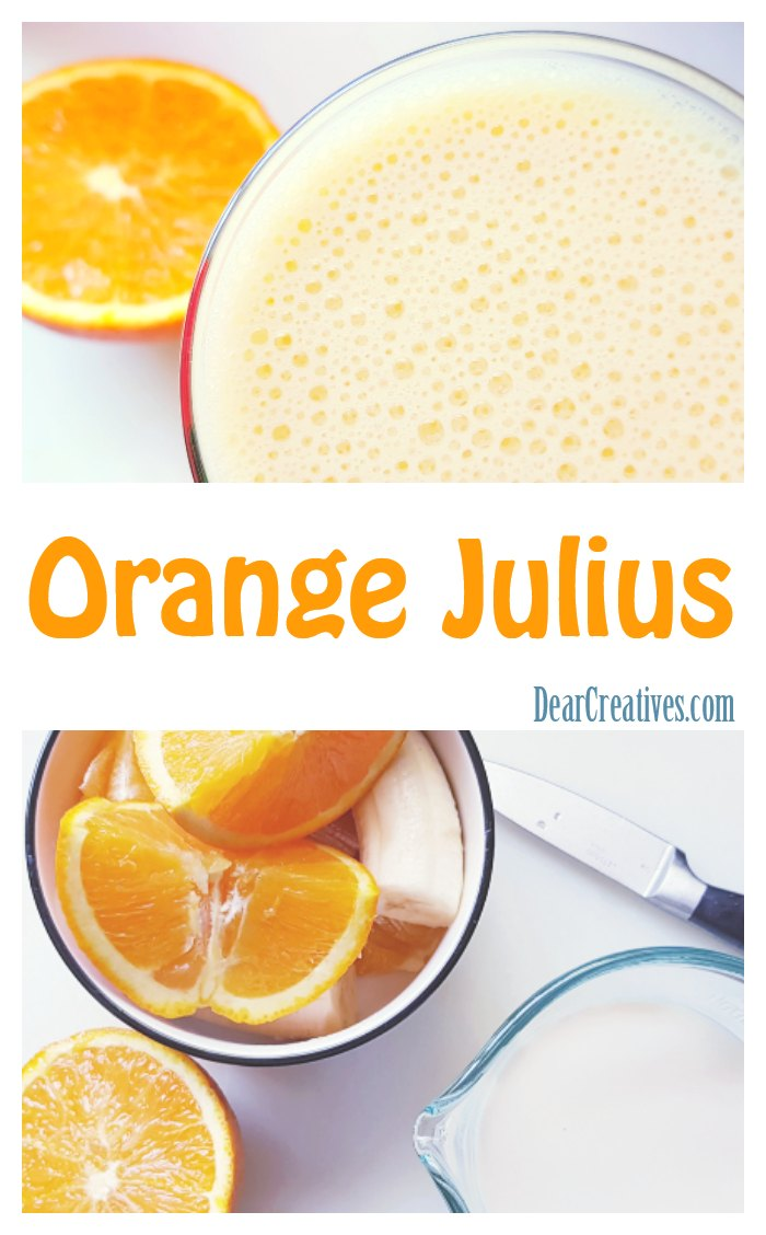 5 Ingredient Orange Julius Recipe Frothy, and Refreshing!