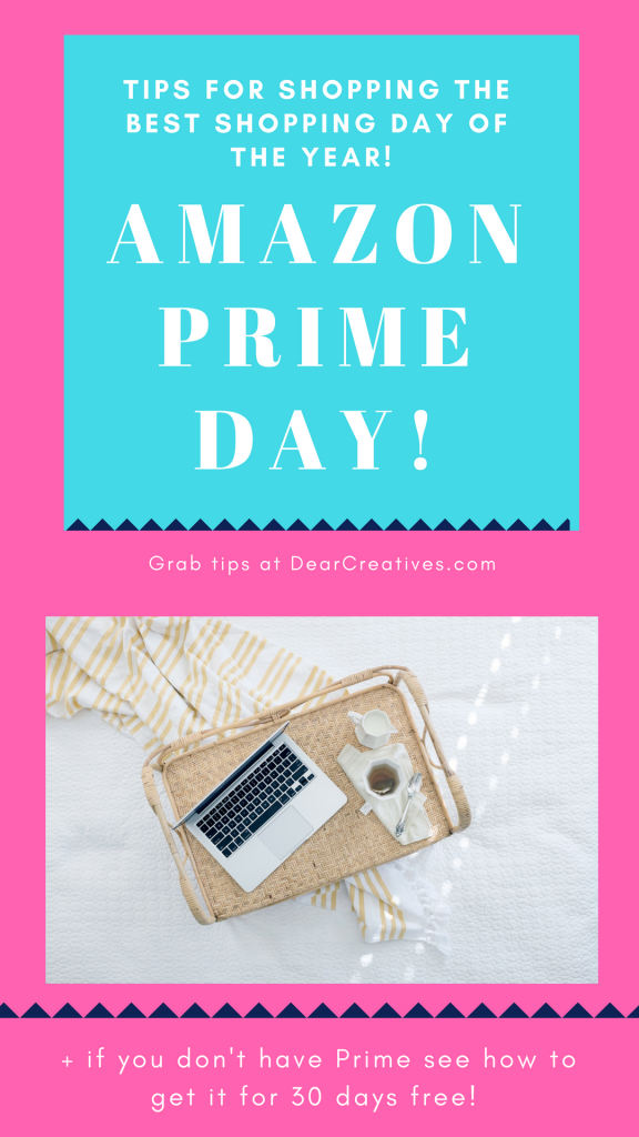 Tips for my favorite things. Why shop with Prime? Tips for shopping, and getting products quickly. Benefits, plus things you might not know about... DearCreatives.com