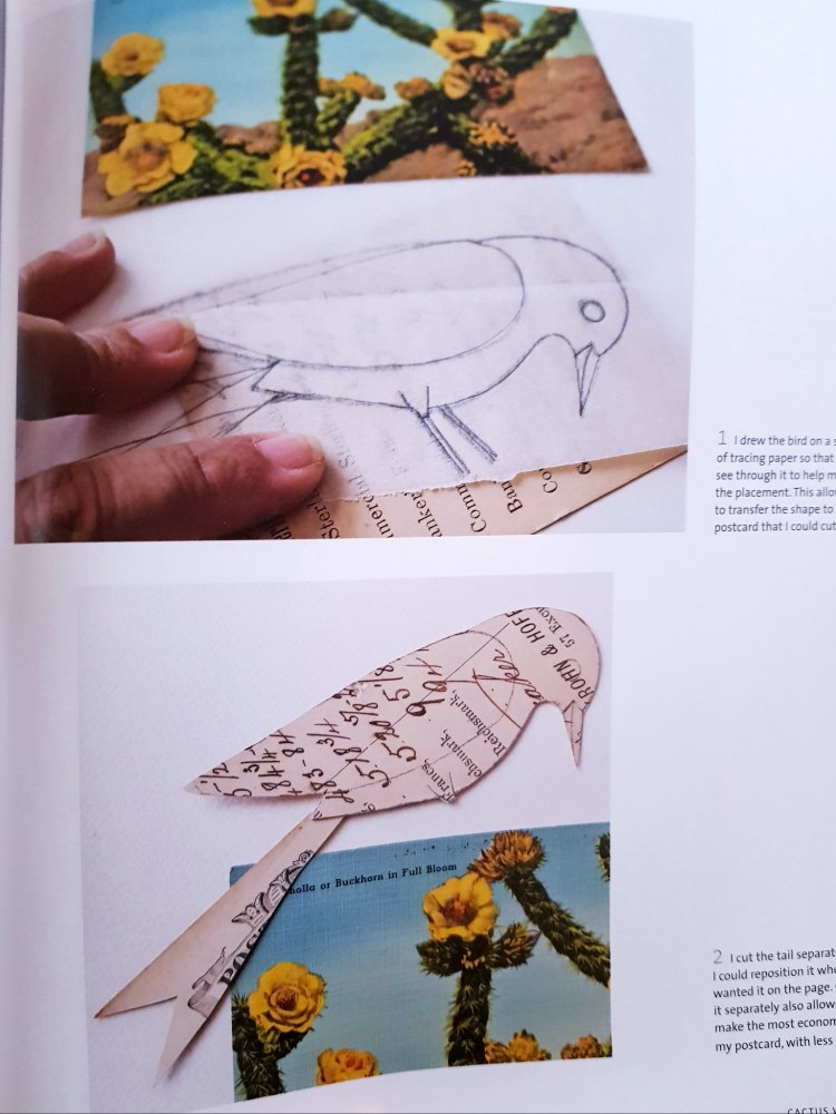 Geninne's Art collage papers from inside the book by geninne d zlatkis find out more at DearCreatives.com