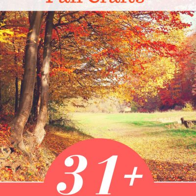 31+ Fall Craft Ideas - You will love making any of these ideas for fall. They are easy and fun fall crafts to try, and this is always being added to! DearCreatives.com #fall #crafts #fallcraftideas #fallcrafts