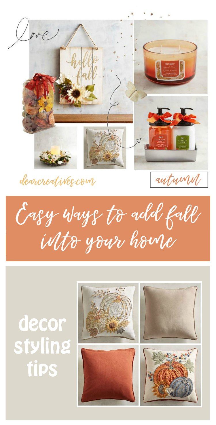 Easy Ways To Add Fall Into Your Home's Decor