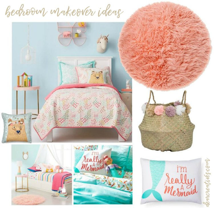 Ideas for girls bedrooms and home decor ideas DearCreatives.com