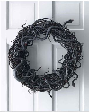 Snake Wreath via Martha Stewart