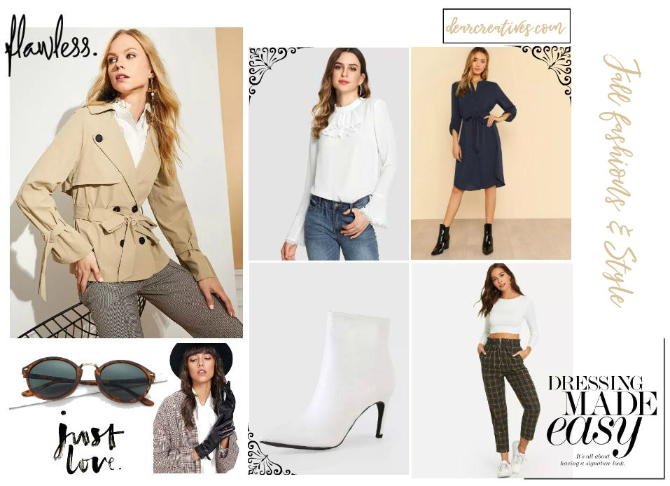 What to wear Fashions and style for fall outfit ideas dearcreatives.com #outfitideas #fashions #womensfashion #everydayfashions #style #fall