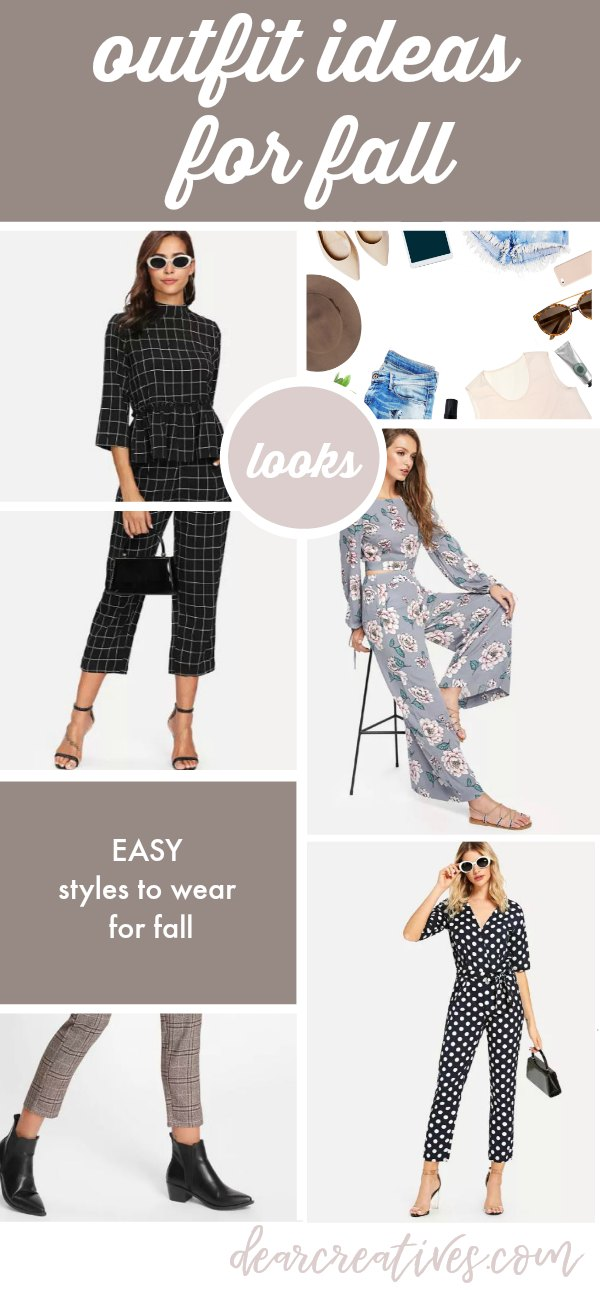 "Do You Always Think ""What to Wear"" Fall Outfit Ideas and Tips to Find Your Look"