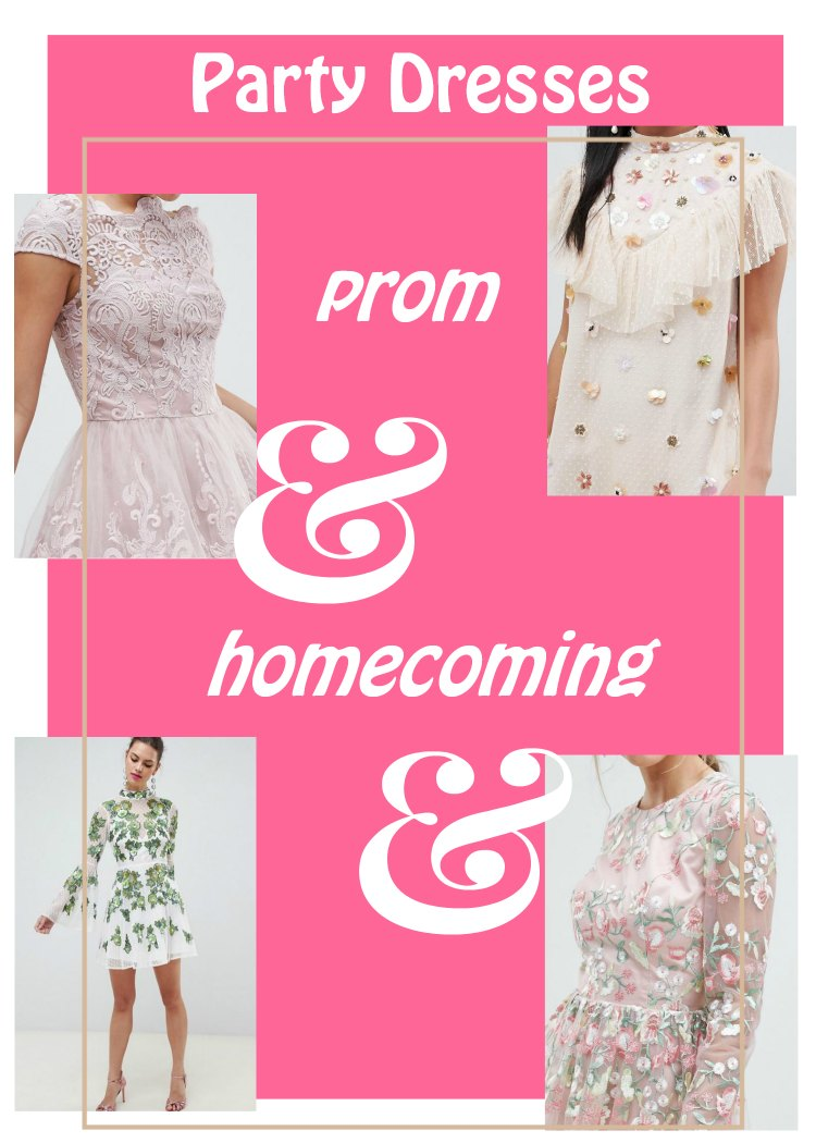 Homecoming Dresses and Prom Dresses You Will Love That Won't Break The Bank!