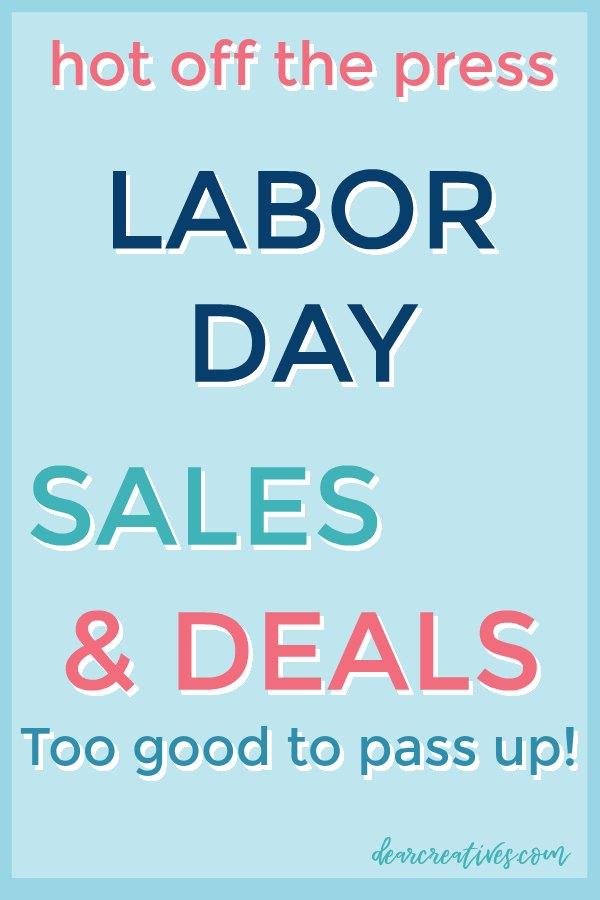 Labor Day Weekend Deals Too Good To Pass Up!