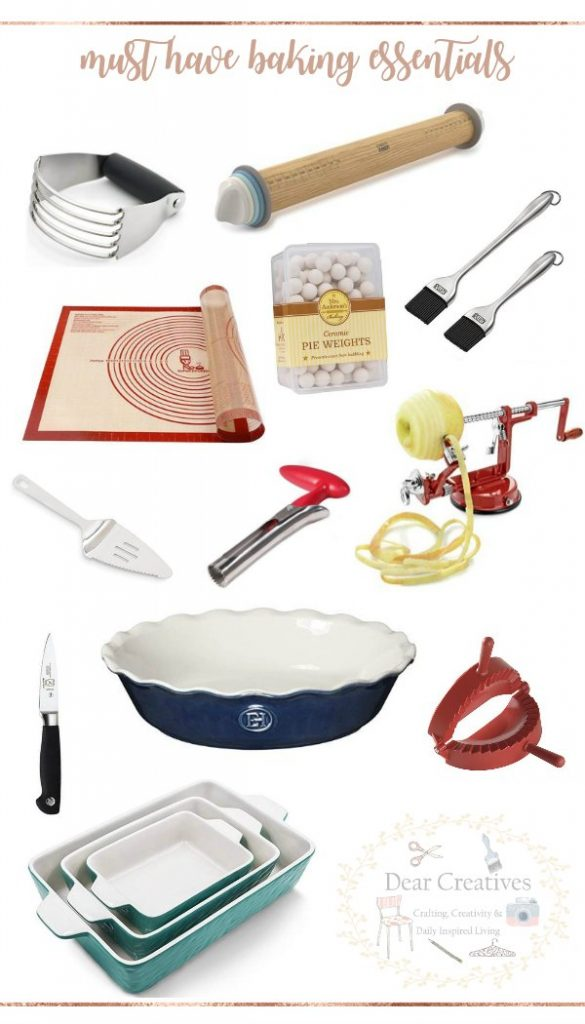 Baking equipment and essentials kitchen tools for baking. These kitchen tools are must haves for anyone who bakes. #bakingequipment #bakingessentials #musthave #kitchentools #gadgets #utensils