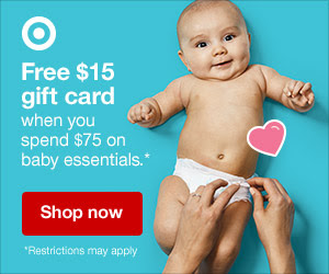 Target Baby Gift Card Offer