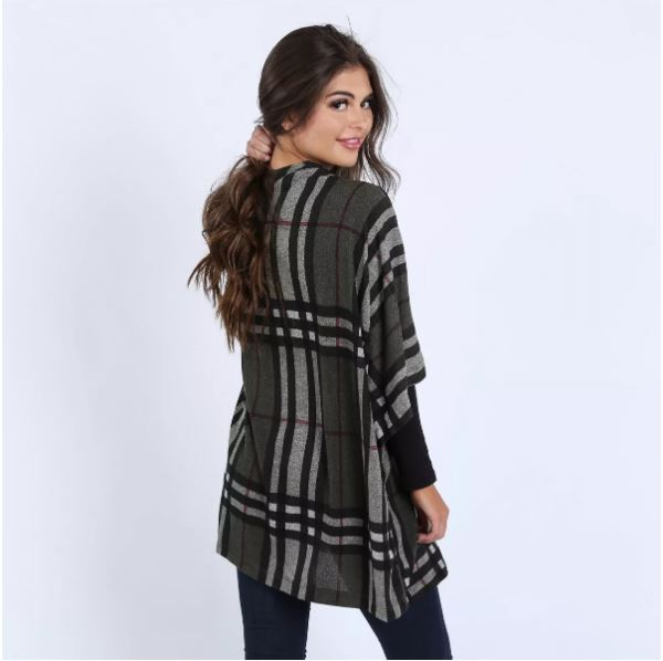 Plaid Caridgan perfect for fall to wear with your outfits