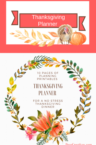 Thanksgiving Planner Set