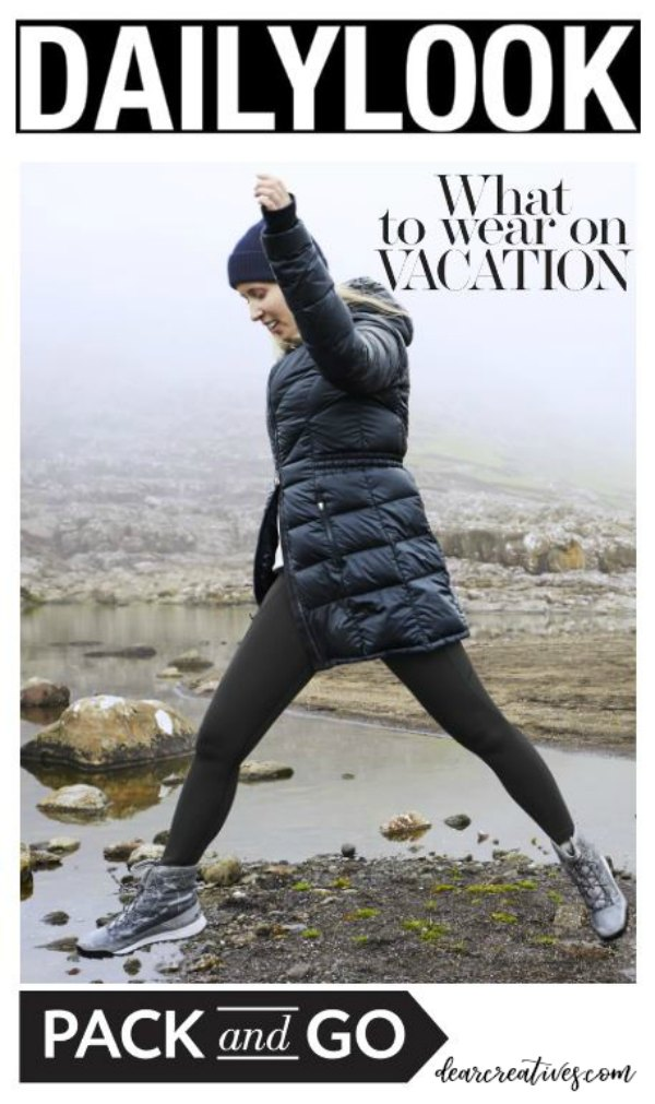 Winter Clothing for Women- Do you have an active lifestyle What to wear on the plane and vacation #fashions #women #outfitideas #winter #travel #outdoors #activewear DearCreatives.com