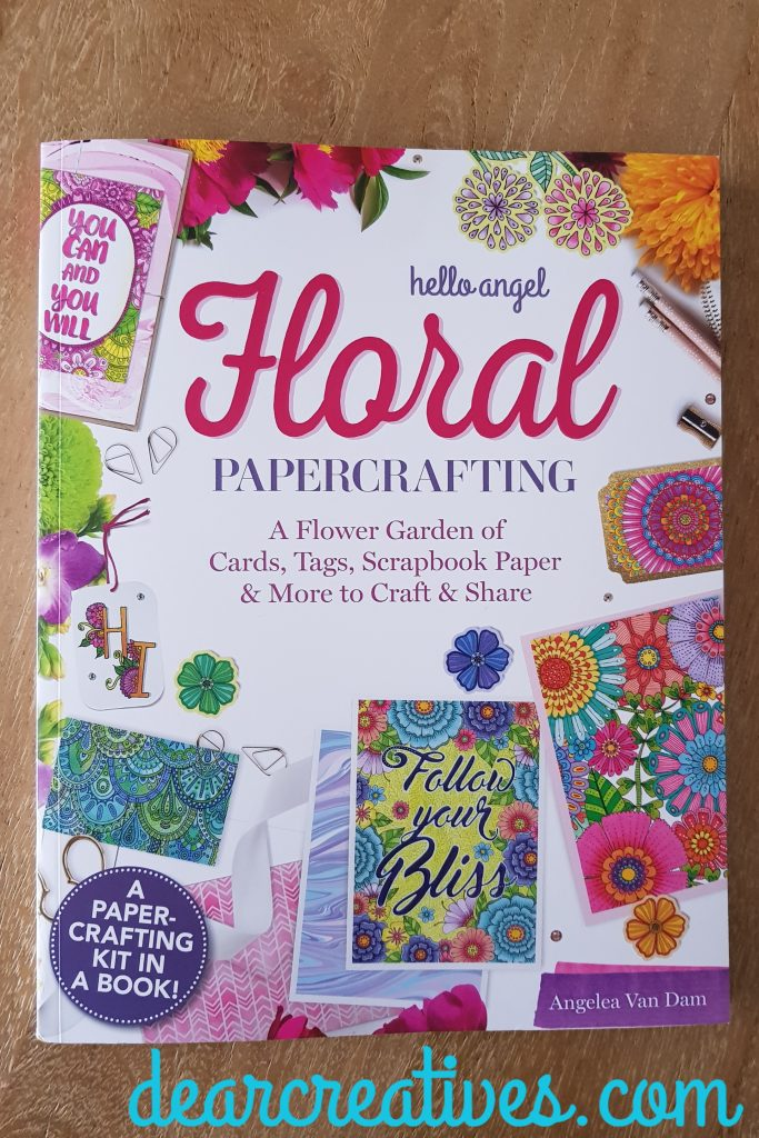 Hello Angel Floral Papercrafting - craft book review