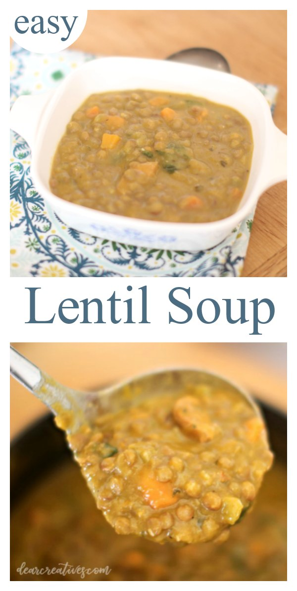 Make This Easy Lentil Soup Any Night Of The Week!