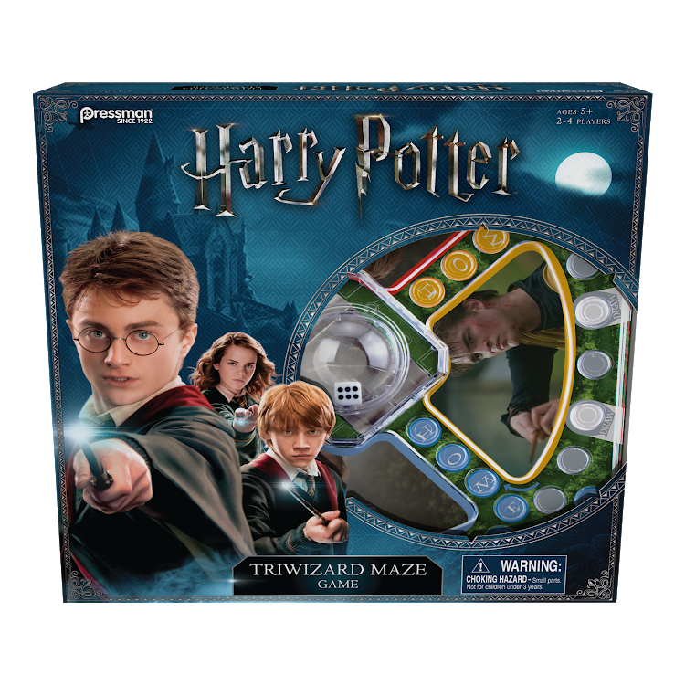 Harry Potter Triwizard Maze Board Game by Pressman