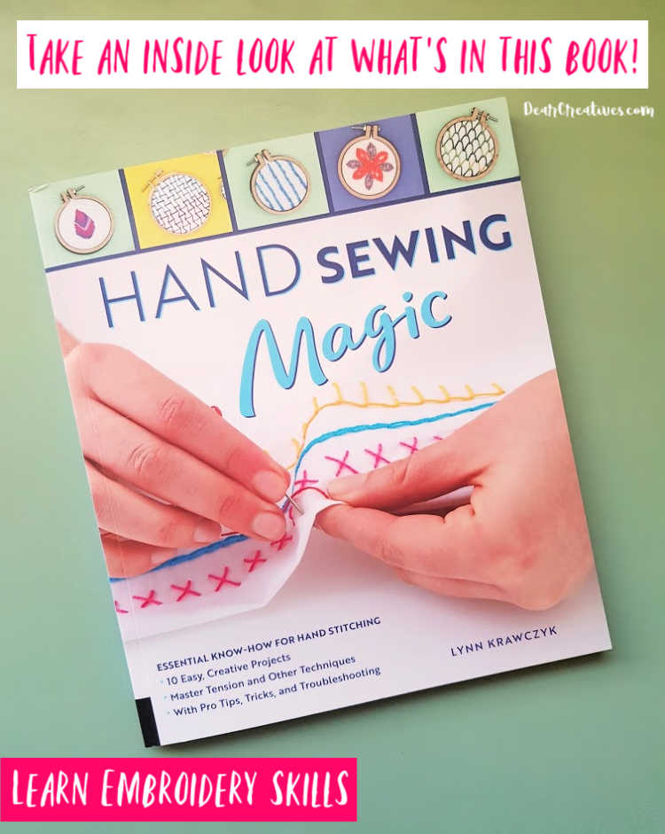 Learn Or Brush Up On Your Hand Embroidery With This Resource!