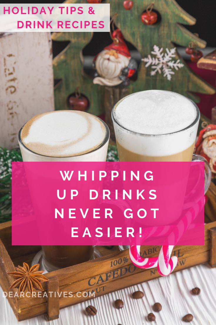 Whipping Up Christmas Drinks Never Got EASIER!