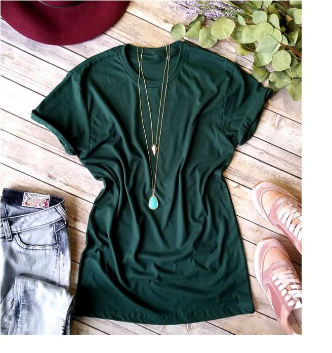 Women's tee shirt stylish yet casual