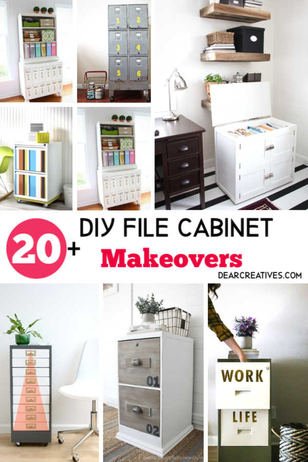 20 DIY File Cabinets That Will Inspire Your Makeovers