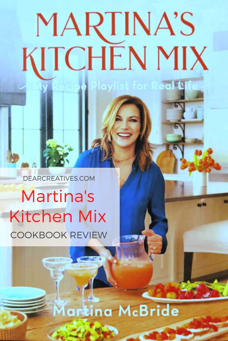 Martina's Kitchen Mix Cookbook Review and cookbook recipe we tried for Banana Cake. DearCreatives.com #cookbooks #review #cookbookrecipes #dearcreatives