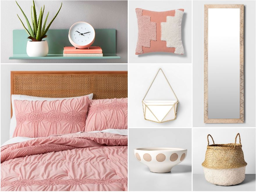 Trending bedroom ideas at Target