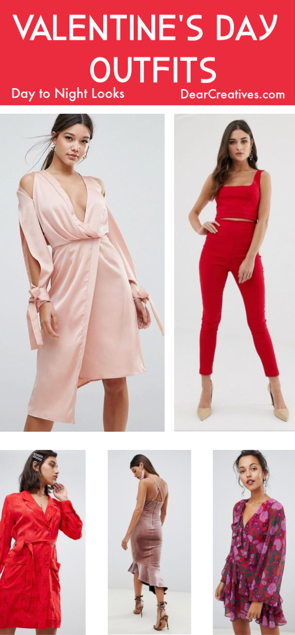 Valentine's Day Outfits Perfect For A Date Night