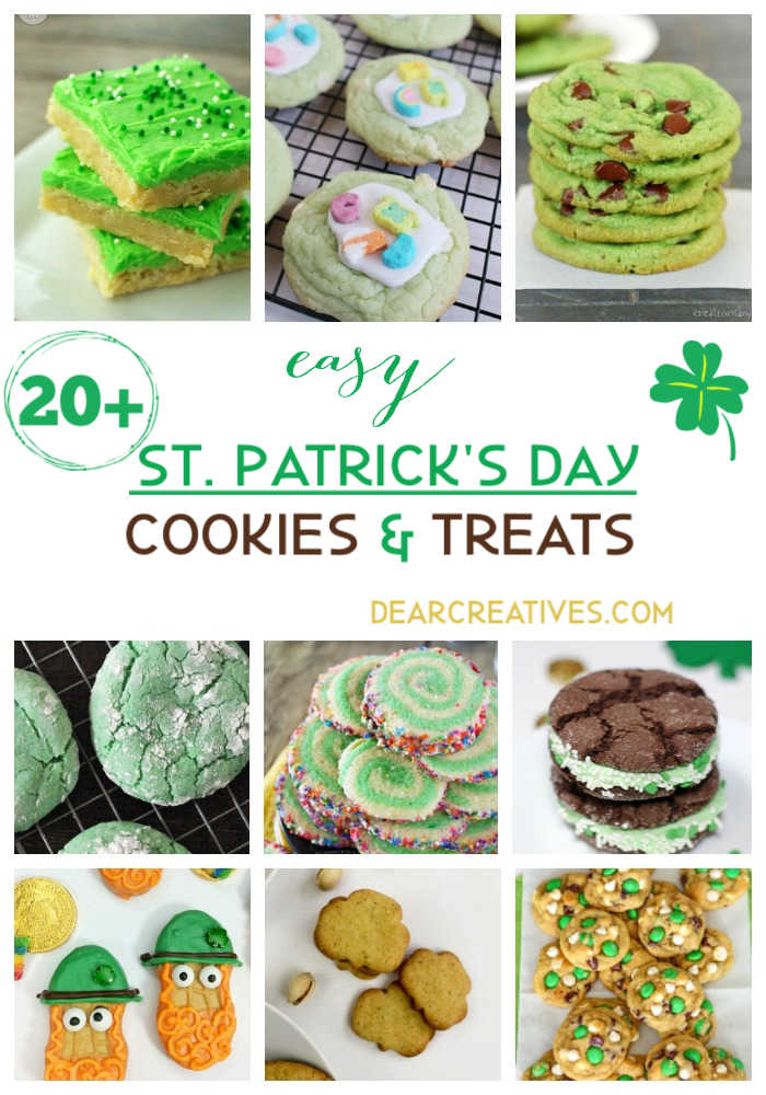 20+ St. Patrick's Day Treats And Cookie Recipes