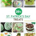 St. Patrick's Day Treats - Cookies and treats that are easy to make for St. Patrick's Day celebrations. DearCreatives.com #st.patricksdaytreats #stpatricksdaycookies #stpatricksday #treats #cookierecipes #treatrecipes