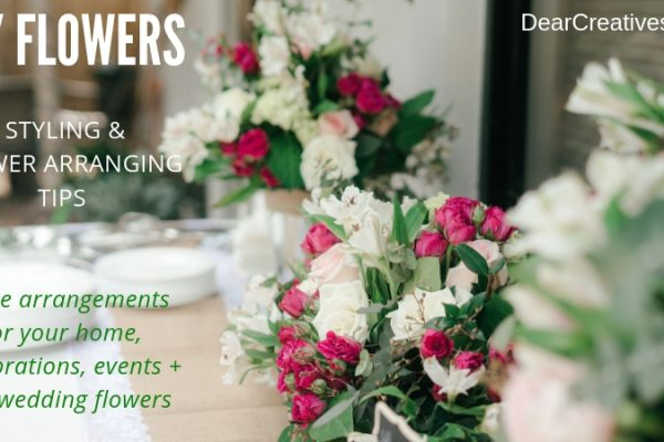 Style Flowers - diy flowers - Make flower arrangements at home.