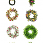 Spring Wreaths on Amazon under $30 - if you are looking for pretty wreaths for spring, Easter and summer. You need to see this list. DearCreatives.com #wreaths #wreathstobuy #under30 #spring #easter #summer