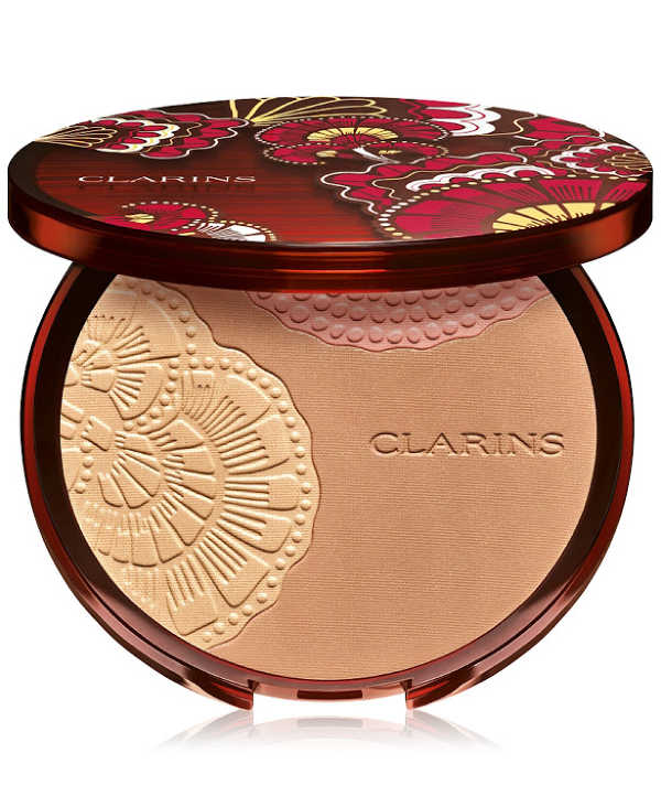 Bronzer makeup by Clarins. Find out more including a special offer for Clarins products. DearCreatives.com.