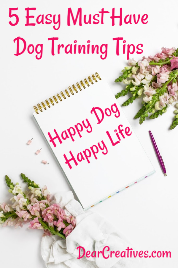 Dog Life - Dog training tips and tips for small dogs to help them have a healthy long life. DearCreatives.com #doglife #dogs #dogtips #dogtraining #WellnessCORESmallBreed #ad