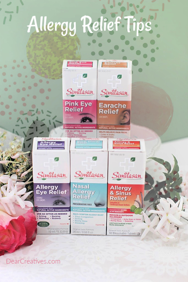 How to control seasonal allergies - Cleaning tips, remedies and relief for allergy sufferers. Similasan Allergy Relief - with natural active ingredients that temporarily relieve symptoms of allergies. © 2019 DearCreatives.com