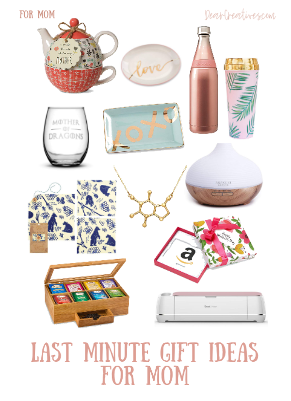Last Minute Gift Ideas Mother -Mother's Day Gifts on Amazon - #Amazoninfluencer DearCreatives.com #mothersdaygifts #giftideas #mothersdaygiftsamazon