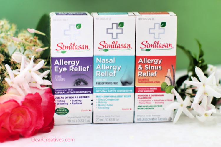 How to manage allergies - Tips for allergy relief and reducing allergies in your home. DearCreatives.com
