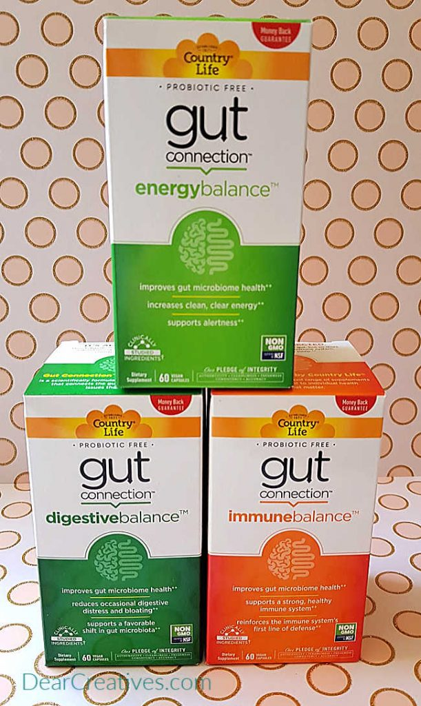 Gut Connection health supplement and - How you can improve your daily gut health. DearCreatives.com