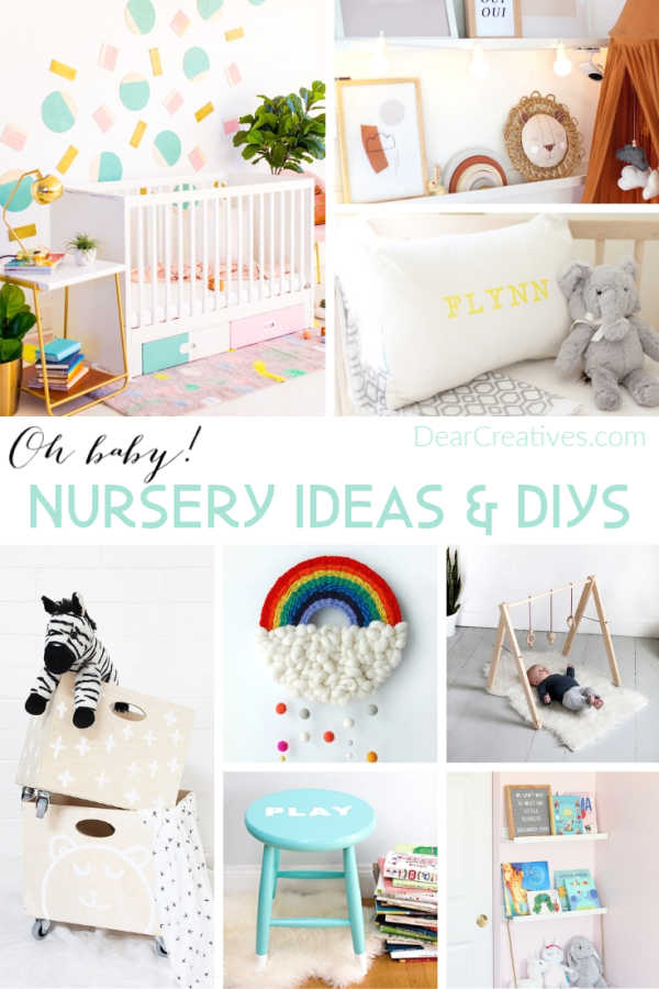 Nursery Room Ideas + Baby DIYs