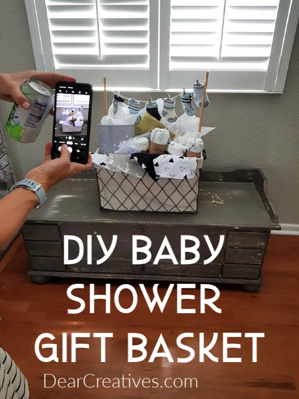 Baby Shower Gift Basket DIY and ideas - DearCreatives.com
