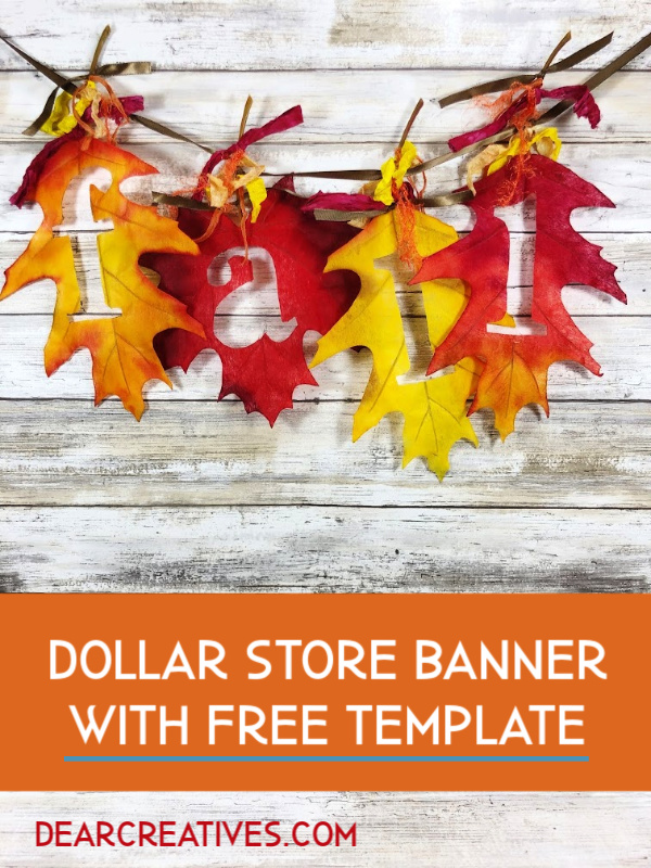 How To Make A Simple Fall Banner