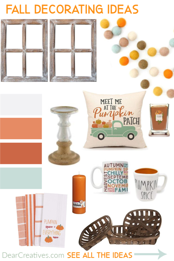 The Best Fall Home Decor Amazon