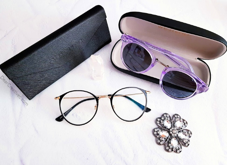 Stylish eyeglasses and sunglasses. See how to select the style that will look best on you! DearCreatives.com